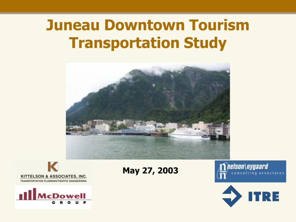 juneau downtown tourism transportation study l.