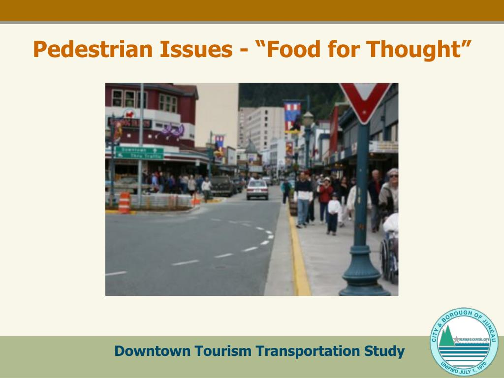 """Pedestrian Issues - """"Food for Thought"""""""