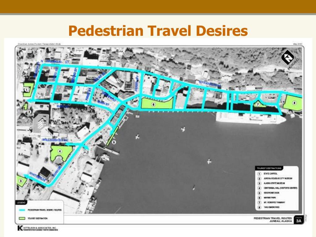 Pedestrian Travel Desires