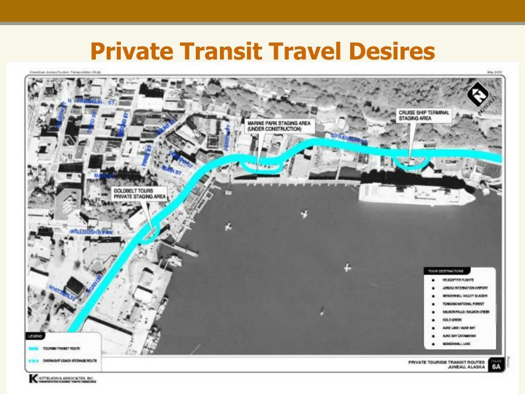 Private Transit Travel Desires