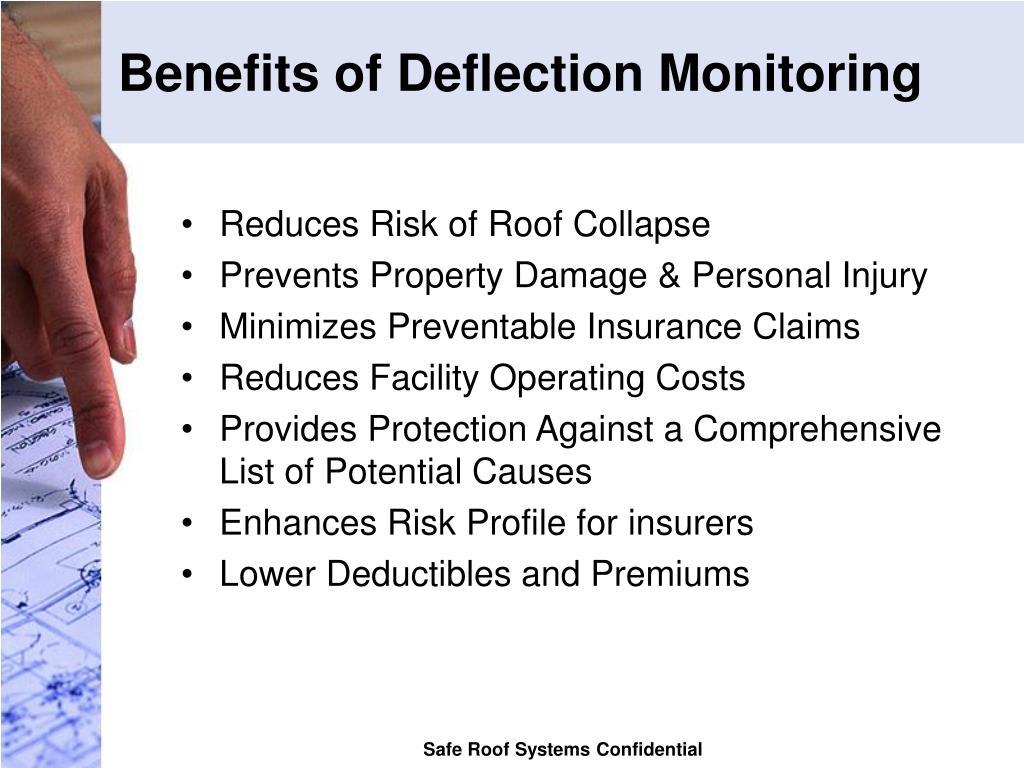 Benefits of Deflection Monitoring