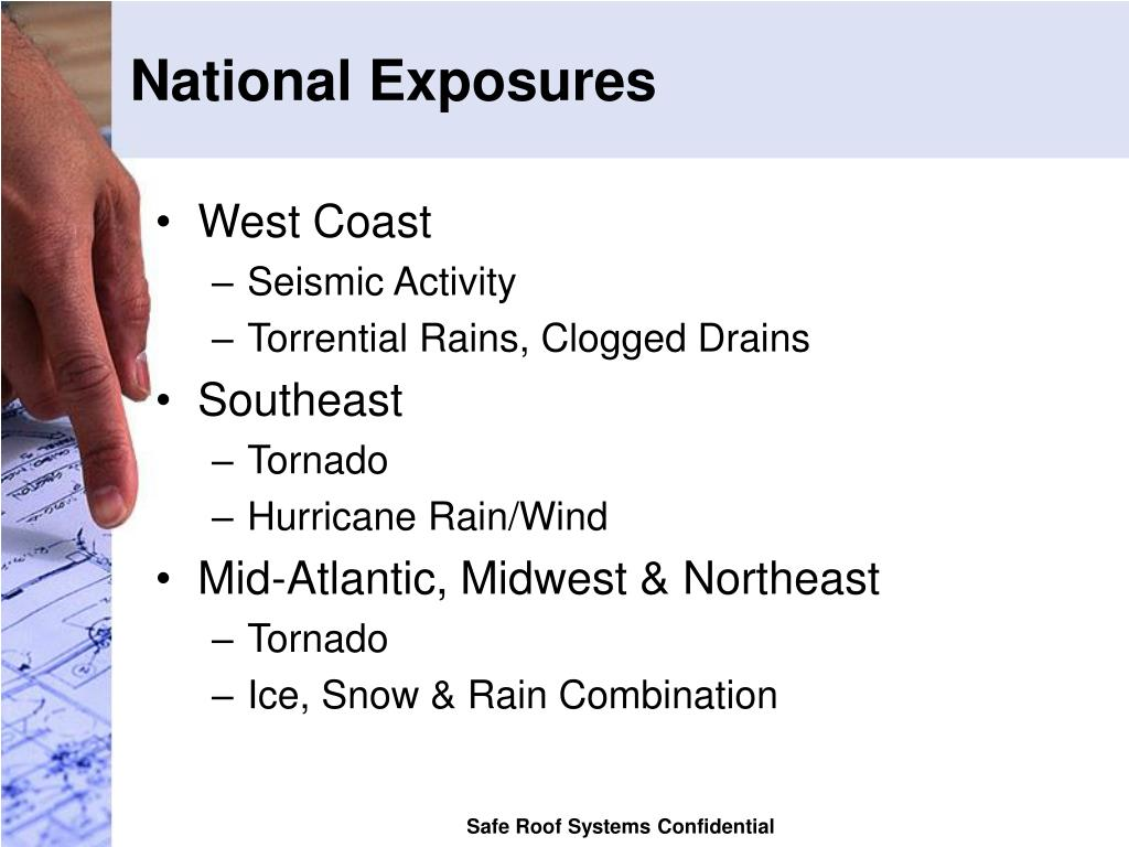 National Exposures