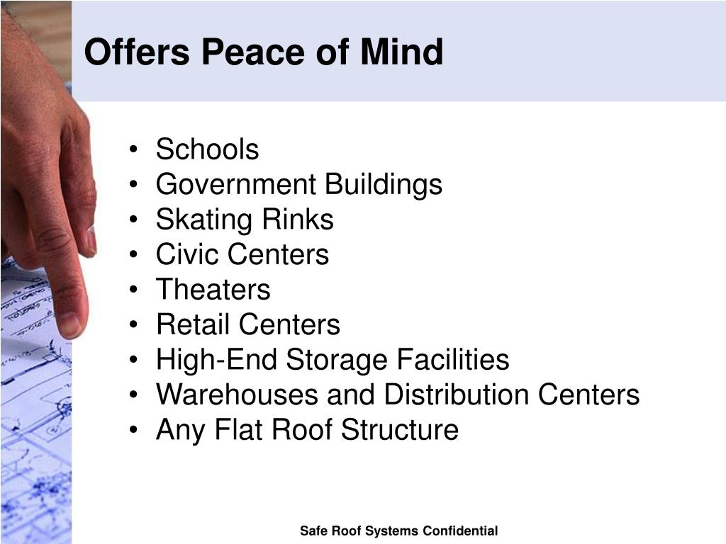 Offers Peace of Mind