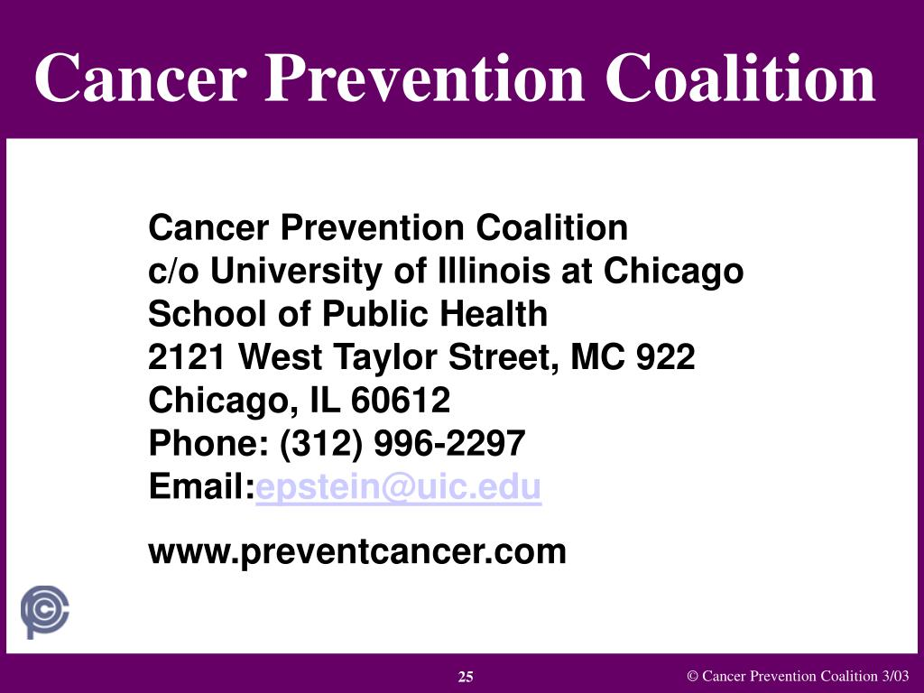 Cancer Prevention Coalition