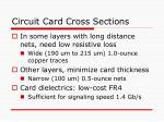 circuit card cross sections24