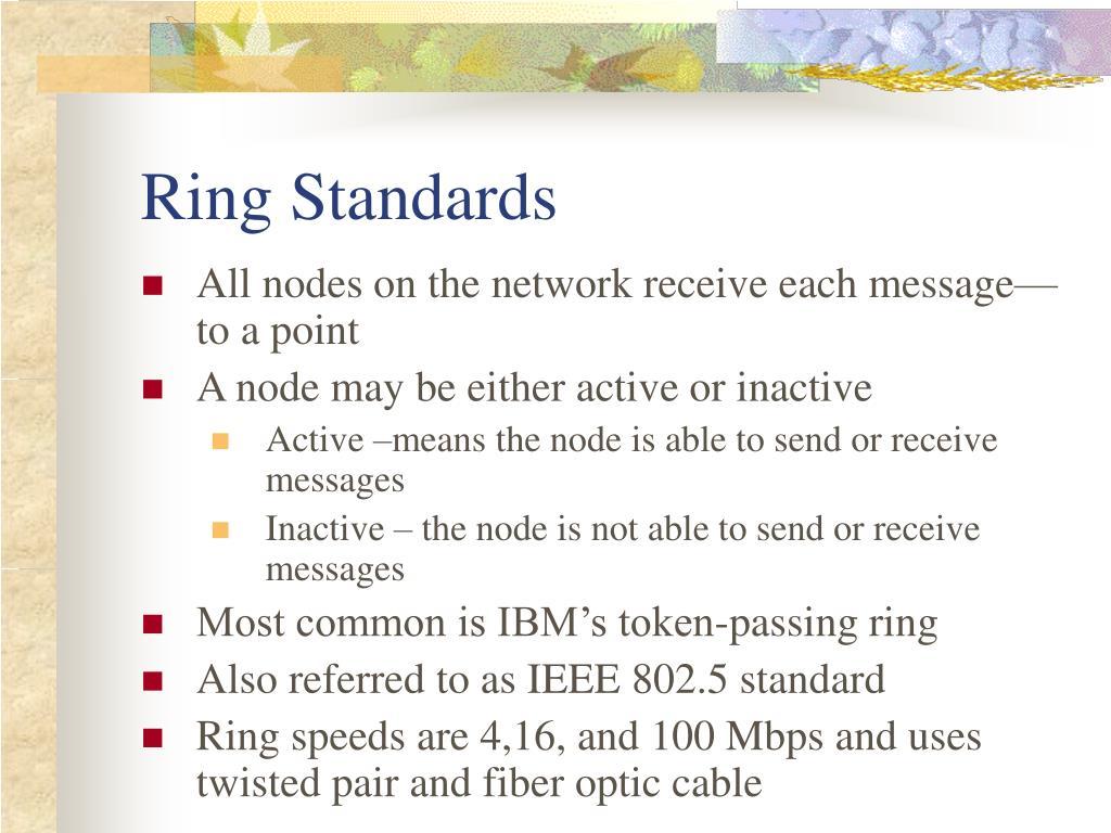 Ring Standards
