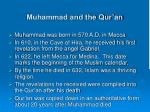 muhammad and the qur an
