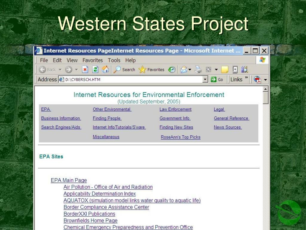 Western States Project