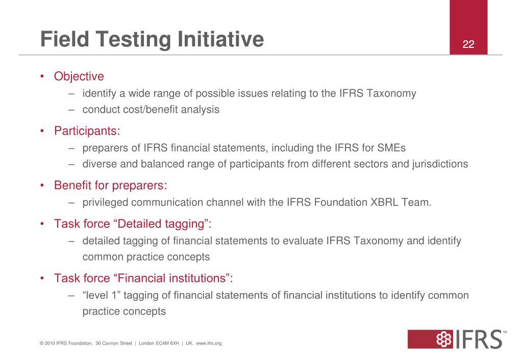 Field Testing Initiative