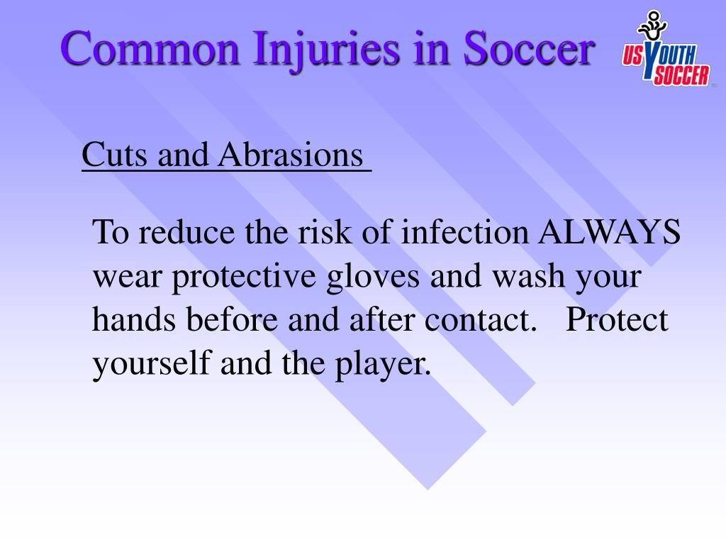 Common Injuries in Soccer