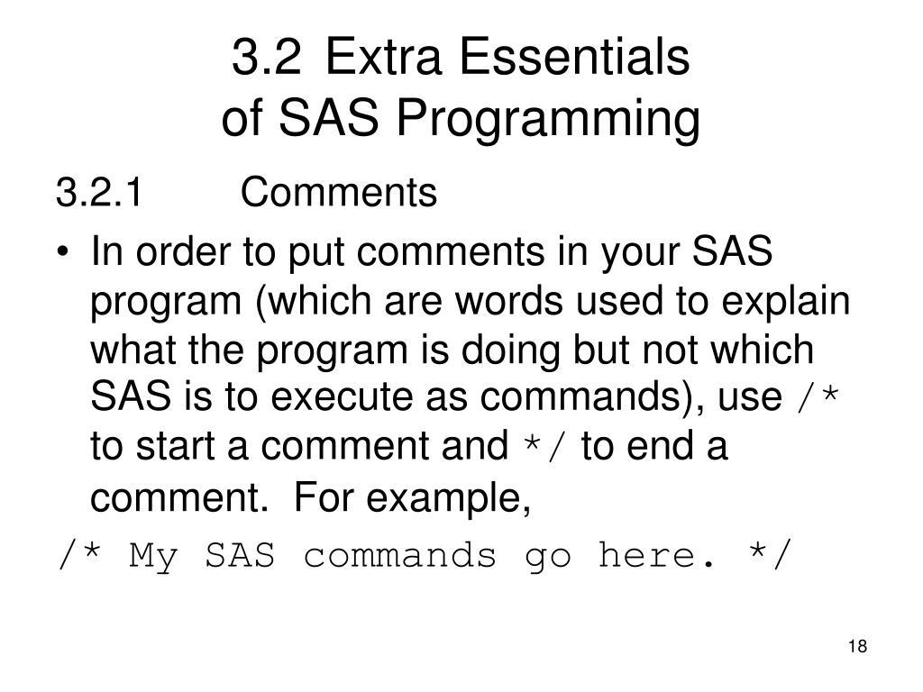 3.2Extra Essentials