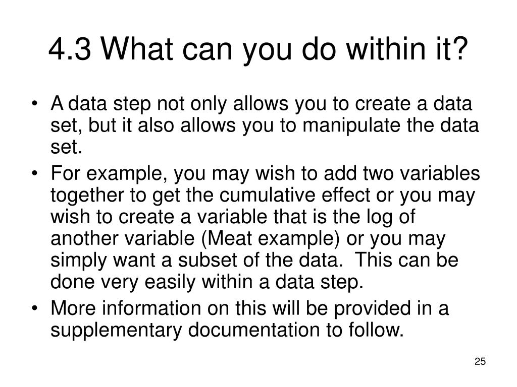4.3What can you do within it?