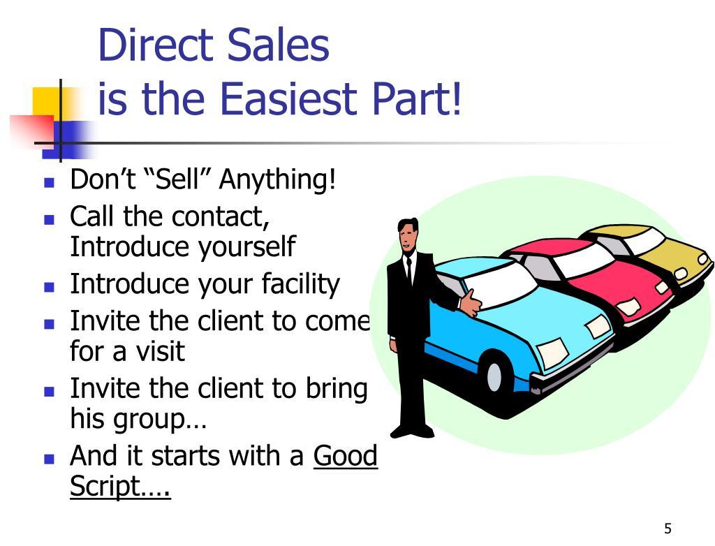 Direct Sales