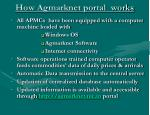 how agmarknet portal works