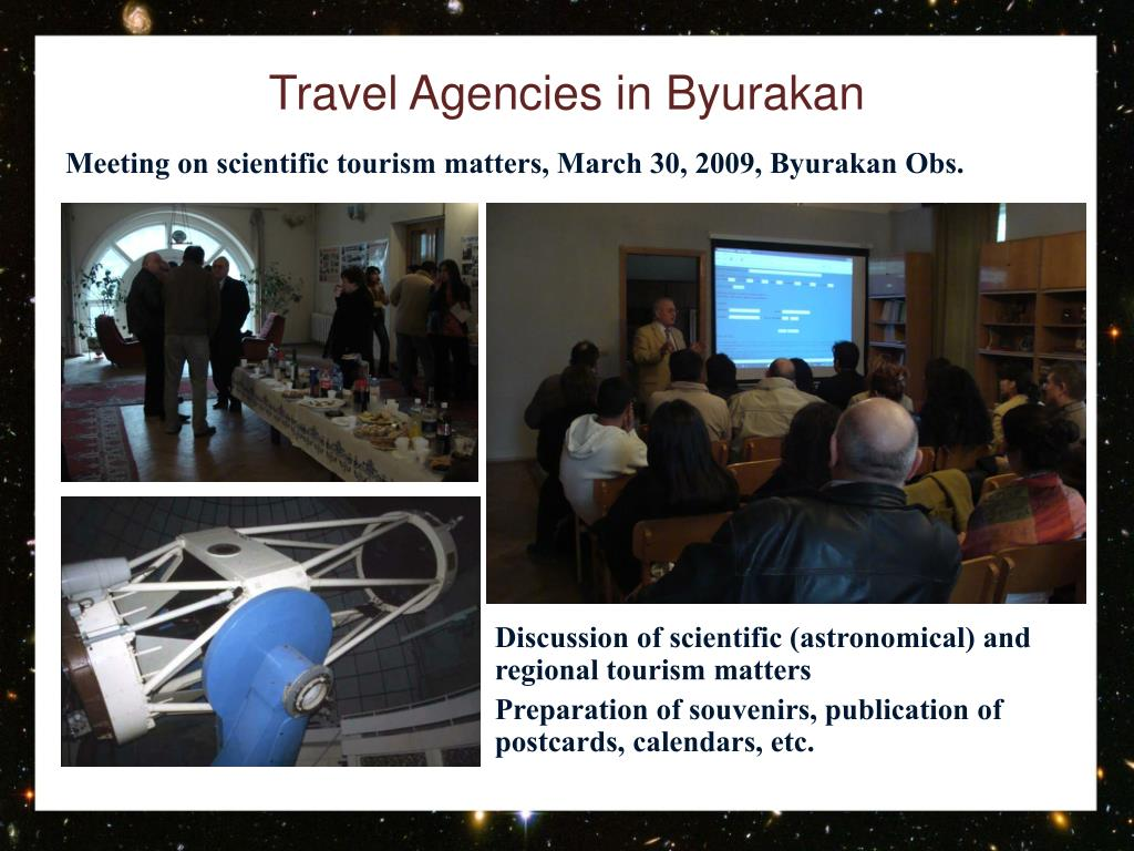Travel Agencies in Byurakan