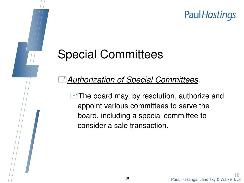 Special Committees
