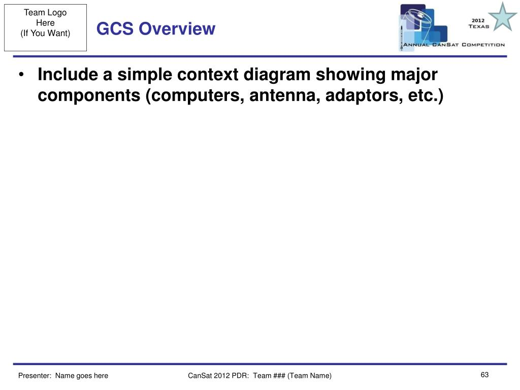GCS Overview