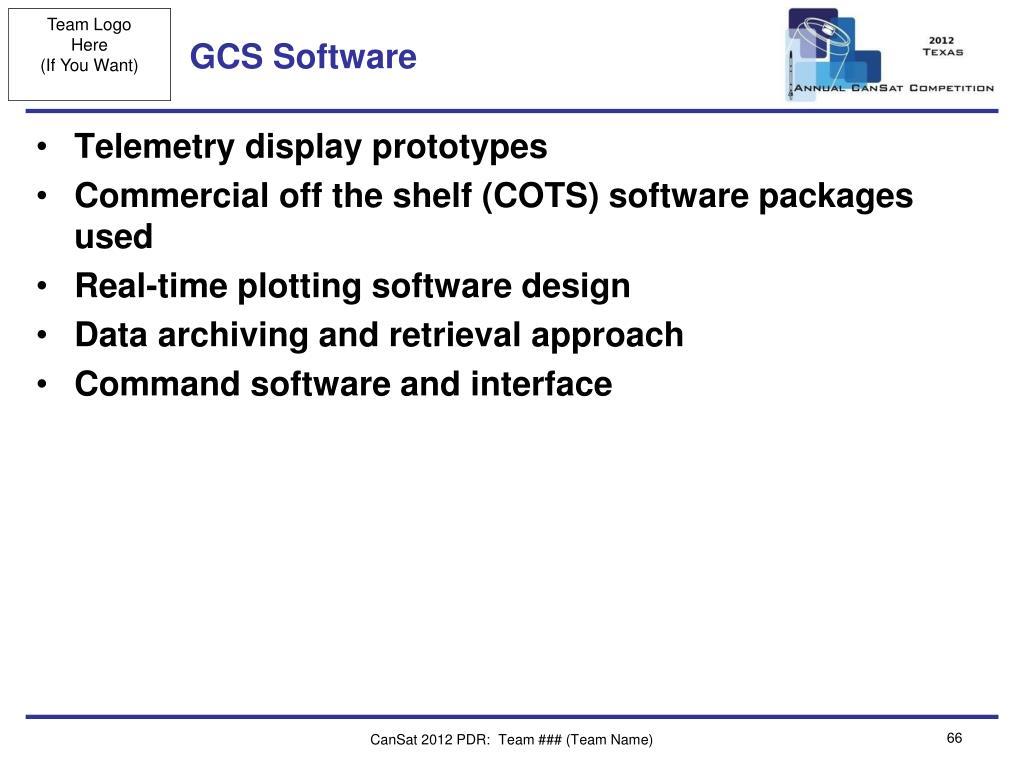 GCS Software