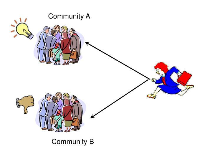 Community A