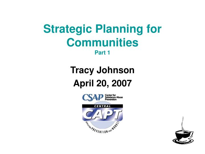 strategic planning for communities part 1 n.