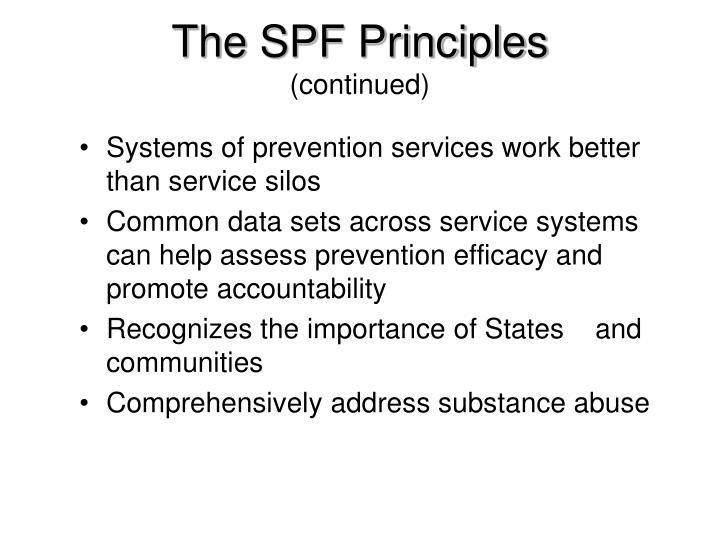The SPF Principles