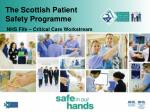 the scottish patient safety programme40