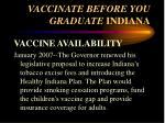 vaccinate before you graduate indiana19