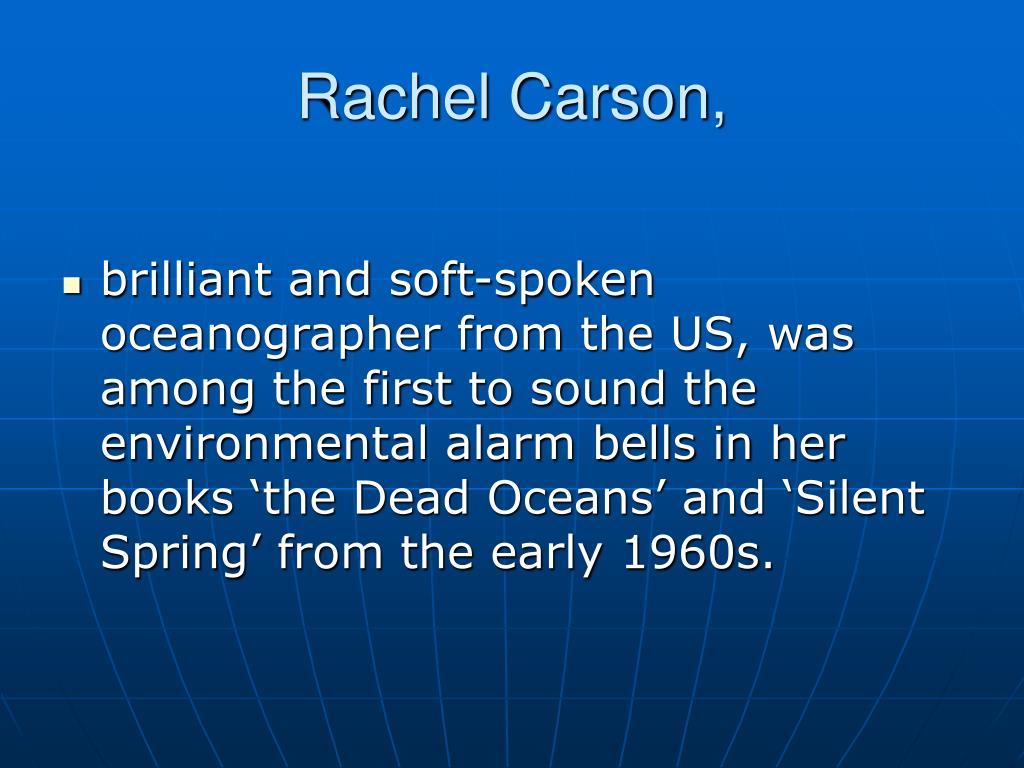 Rachel Carson,