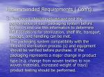 recommended requirements con t9