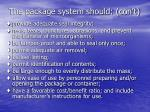 the package system should con t