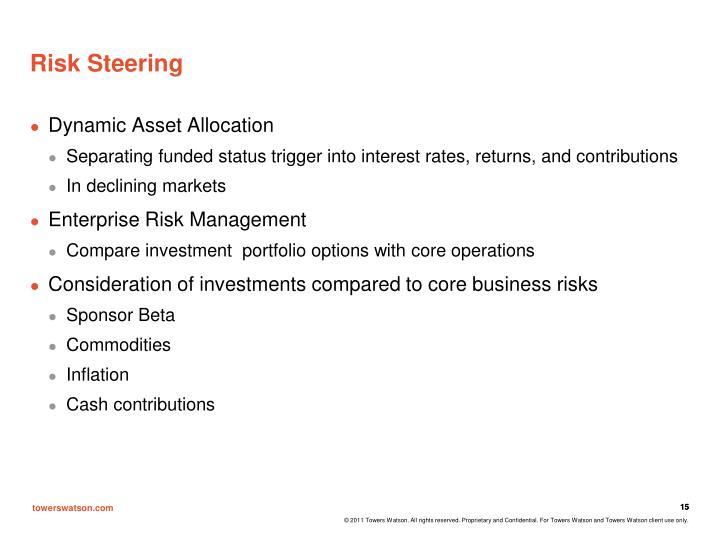 Risk Steering