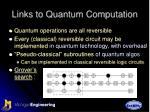 links to quantum computation