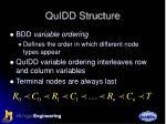 quidd structure