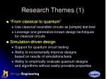 research themes 1