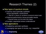 research themes 2