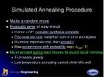 simulated annealing procedure1