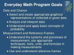 everyday math program goals9