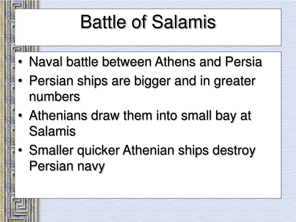 Naval battle between Athens and Persia