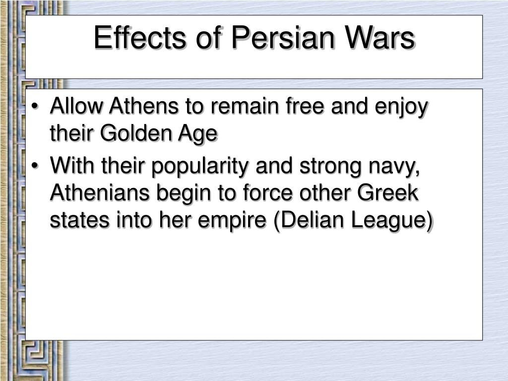 Allow Athens to remain free and enjoy their Golden Age