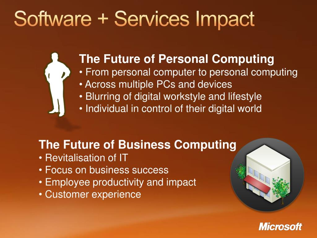Software + Services Impact