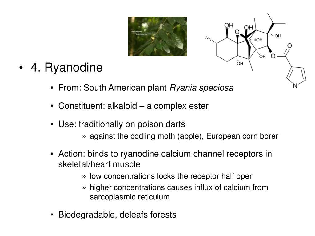 4. Ryanodine