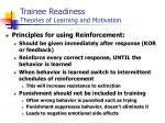 trainee readiness theories of learning and motivation6