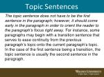 topic sentences7
