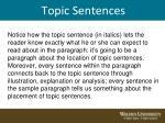topic sentences8