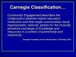 carnegie classification