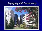 engaging with community