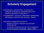 scholarly engagement23