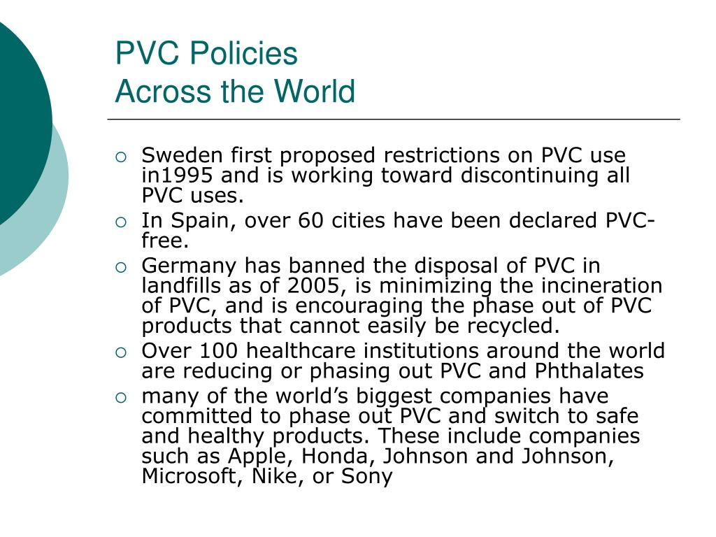 PVC Policies