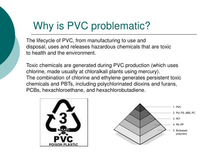 Why is pvc problematic