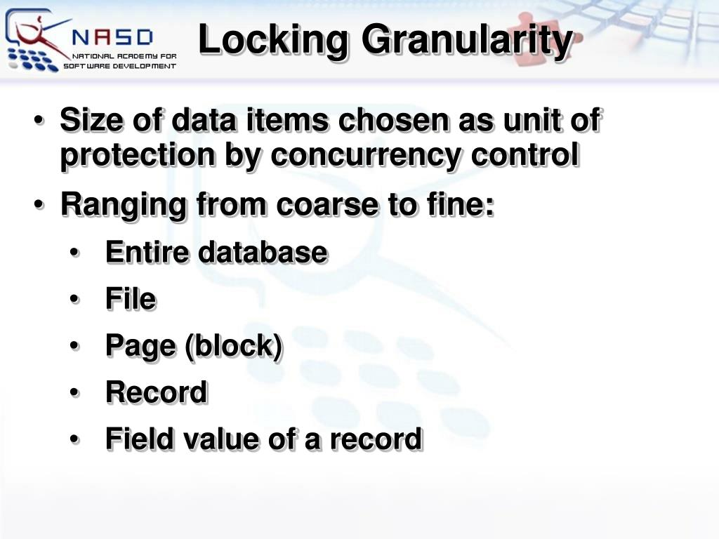 Locking Granularity